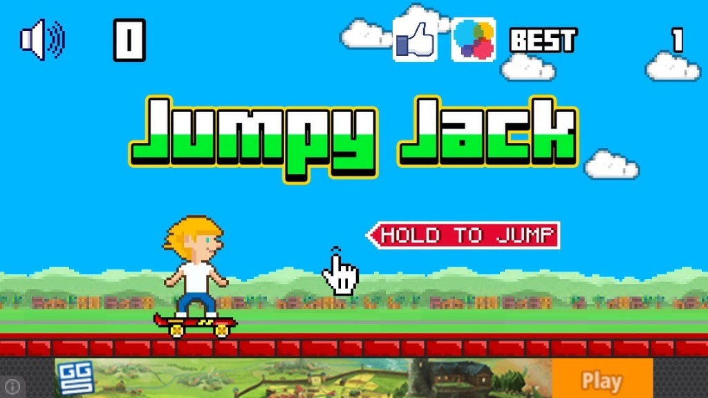 Jumpy Jack High Scores - cover
