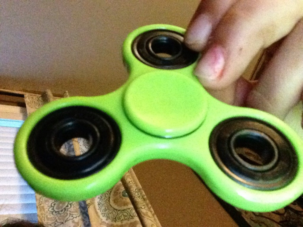 New Fidget Spinner - cover