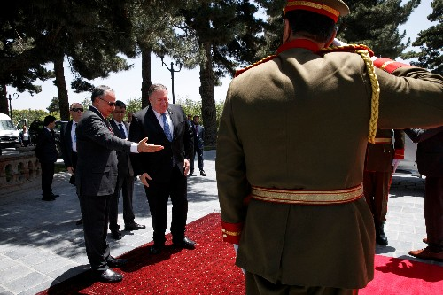 U.S. Secretary of State Pompeo visits Kabul, hopes for a peace deal before September 1