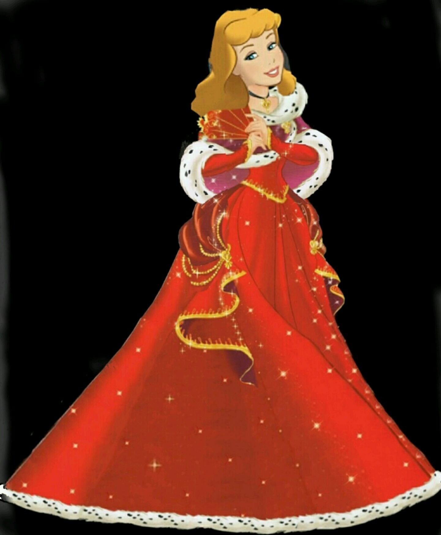 Cinderella Princess Merry Christmas and New Year
