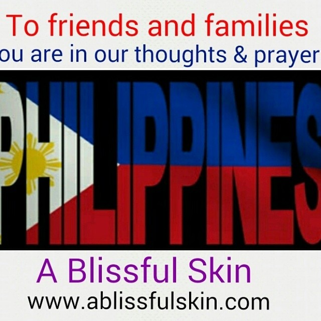 Dear friends & family, please keep the Philippines in your thoughts and prayers, typhoon Hagupit is wrecking havoc. Please follow Emergency procedures during this time. A Blissful Skin #Philippines #Hagupit #ruby #staysafe #ablissfulskin #westlakevillage