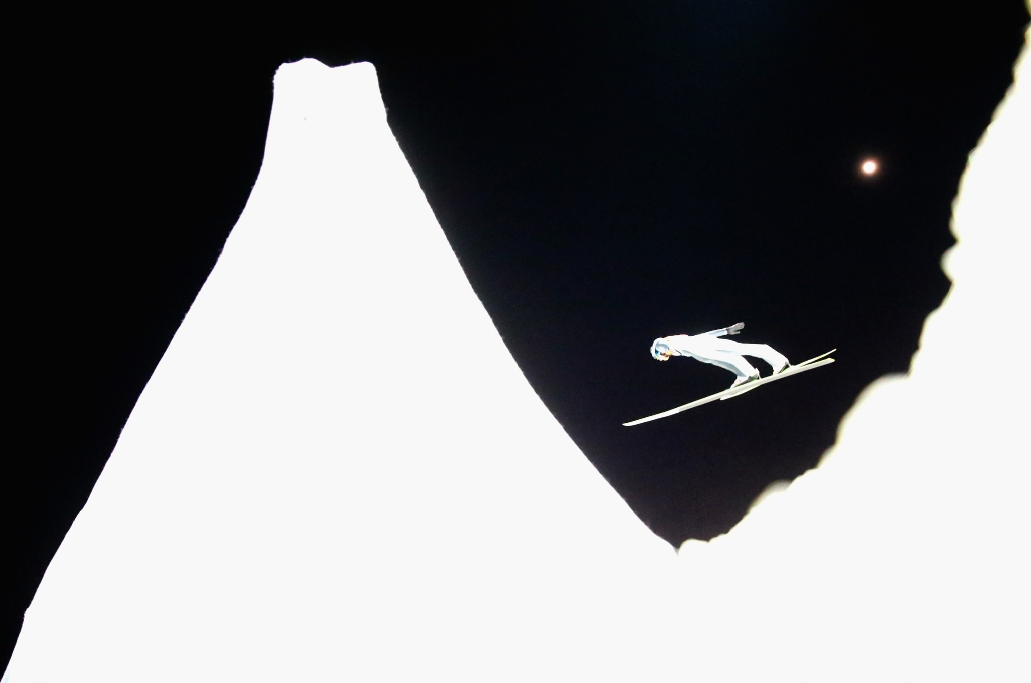 Sochi 2014: 10 high contrast shots at the Winter Olympics – in pictures