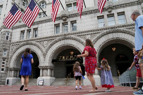 U.S. appeals court to revisit Trump win in hotel 'emoluments' case