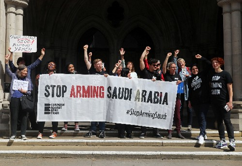 Britain broke the law on Saudi arms exports, court rules
