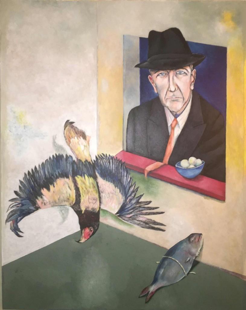 Leonard Cohen - Magazine cover