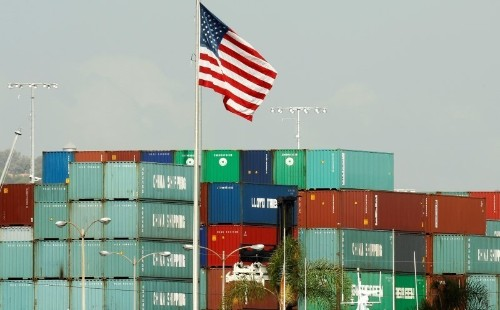 U.S. import prices fall for eighth straight month