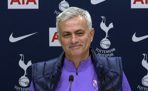 Humble One: Mourinho says he's emotionally stronger at Spurs