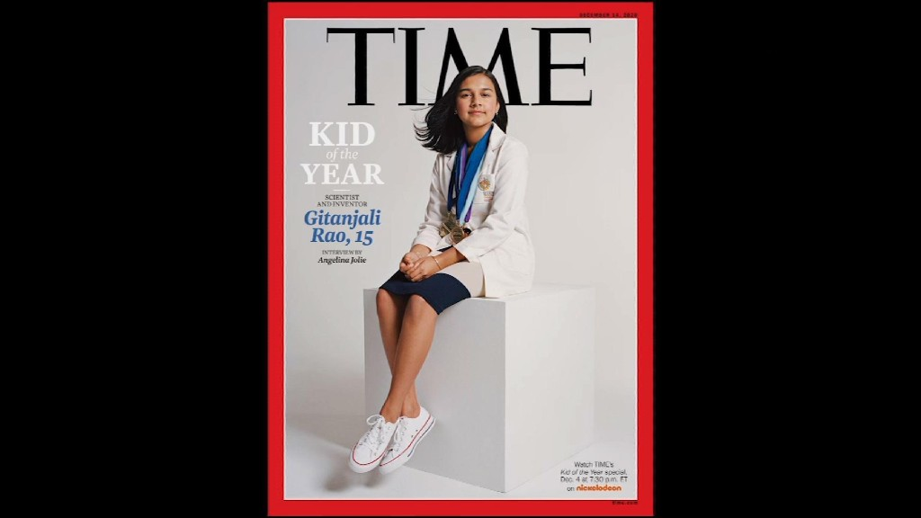 Colorado teen scientist is Time's Kid of the Year