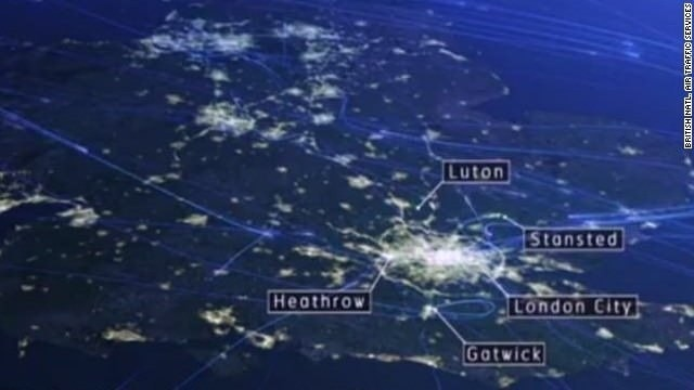 Air control system for London restored
