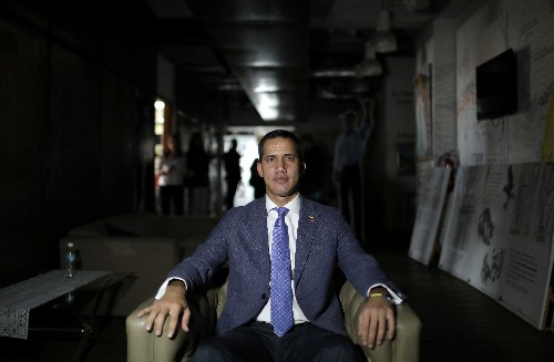 Exclusive: Guaido says Washington should help Venezuela keep U.S. refiner Citgo