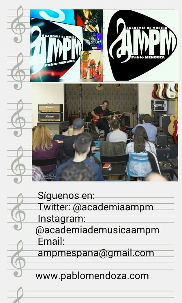 Academia De Música AMPM - Magazine cover