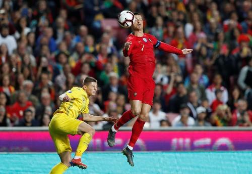 Soccer: Portugal draw blank against Ukraine on Ronaldo's return