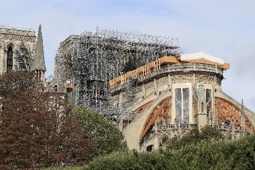 Removal of Notre Dame's melted scaffold to begin 'in weeks'