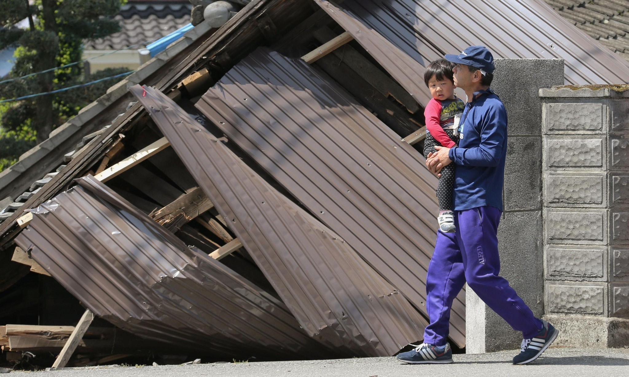 Kumamoto earthquake aftermath in Japan – in pictures