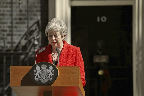 May to quit as party leader June 7, opening race for new PM