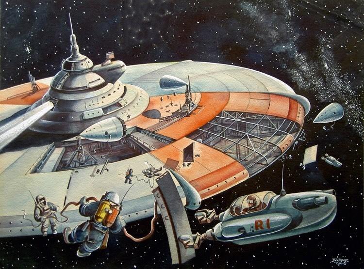 Life among the stars (Circa 1960) ...