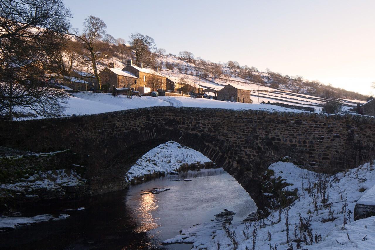 Wharfedale winter scene, Yorkshire, UK - follow me on Instagram: @fotofacade