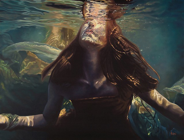 Life-Sized Hyperrealistic Portraits Depict Sirens in Their Element - VICE