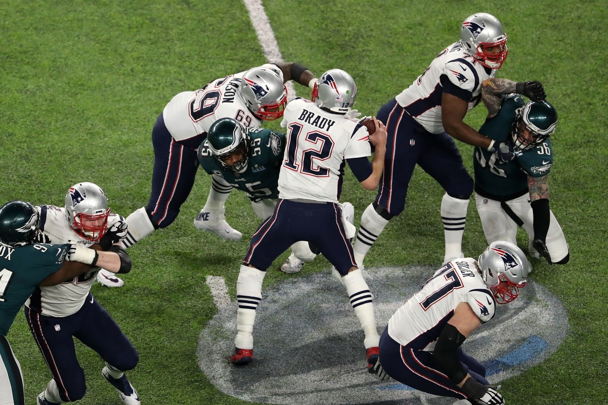 Tom Brady was still great in Super Bowl 52. He just wasn't heroic this time.