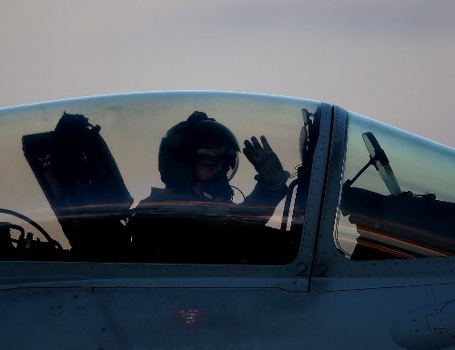 British Fighter Jets at Airbase in Cyrus: Pictures