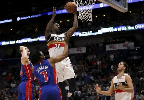 Griffin, Pistons take down Davis-less Pelicans