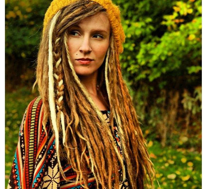 I would love to do that little braid on my dreads!