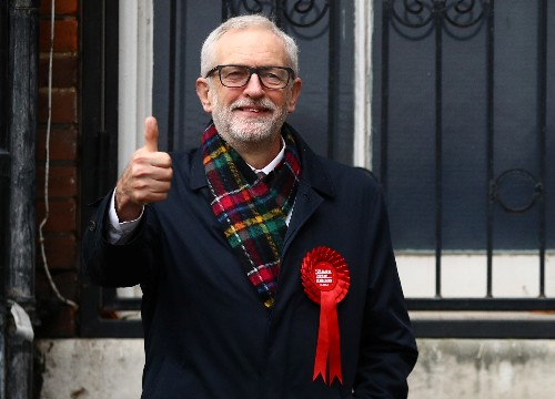 UK Labour Leader Corbyn to step down as crushing defeat looms