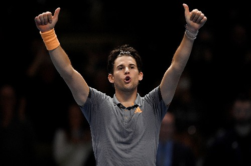 Thiem beats Djokovic in thriller to reach semis