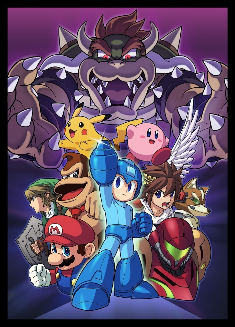 Official art from Super Smash Brothers 4