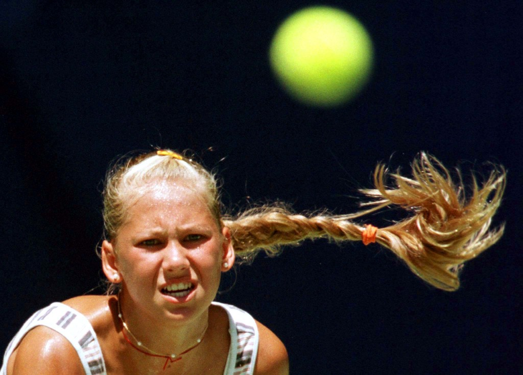On this day: Born June 7, 1981: Anna Kournikova, Russian tennis player