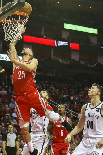 Nets stun Rockets in OT despite Harden's 58