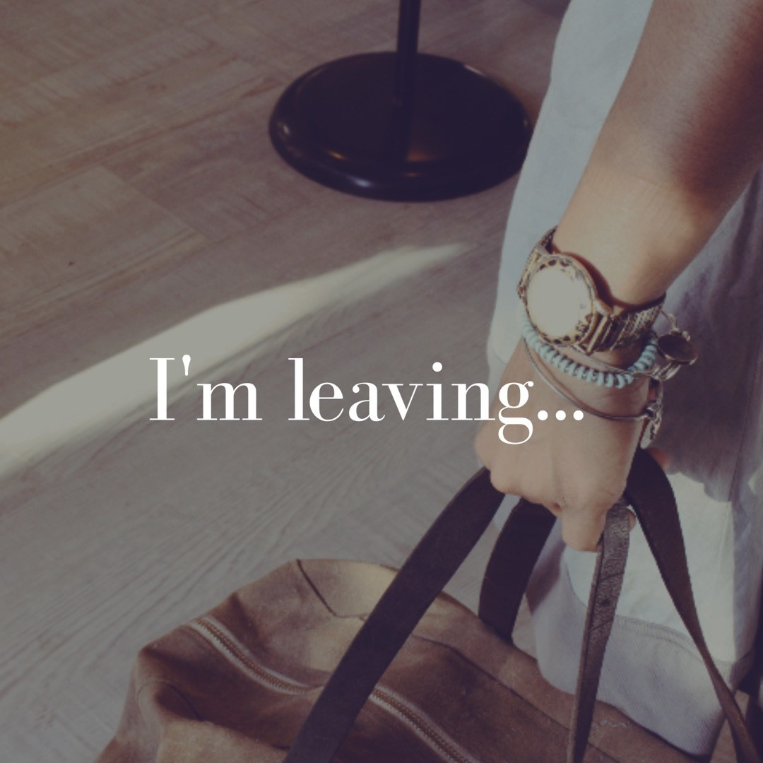 I've chosen to pack my bags and leave behind every type of negative self talk. Do you care to leave with me? www.reeinspired.com