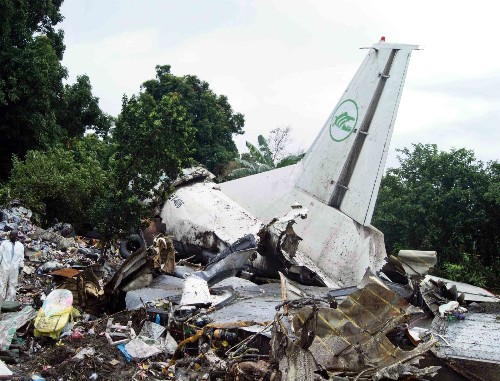 Cargo Plane Crashes in South Sudan: Pictures