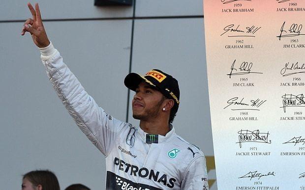 Lewis Hamilton wins Russian Grand Prix from Mercedes team-mate Nico Rosberg