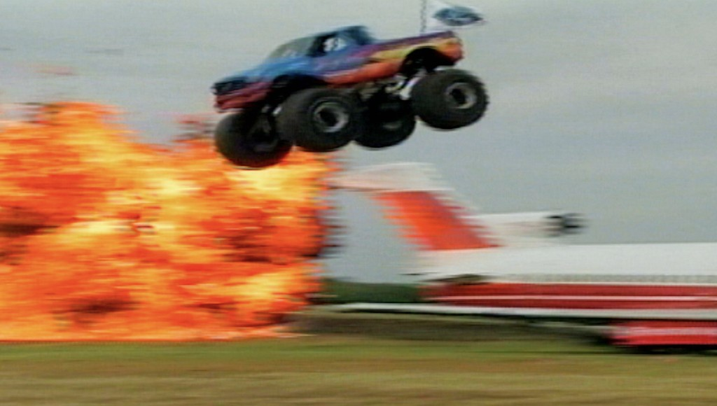 This Monster Truck Makes a World Record Over an Airplane