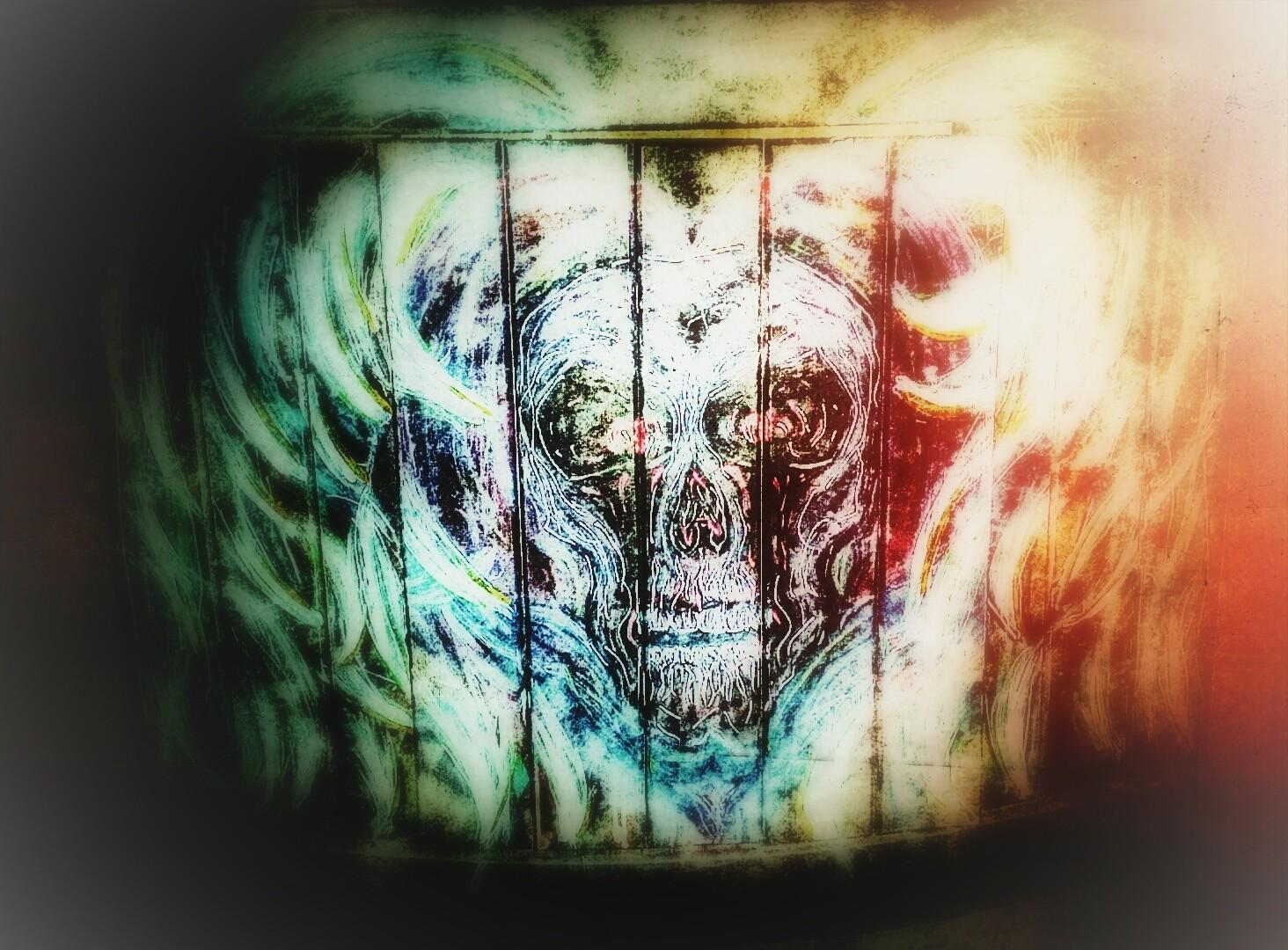 #TheBeardedWelder #painting #art #slipknot #korn #eminem #rihanna #chive #acrylic #angel #good #evil #original #creepy #artwork #heart #MetalArt #nin #halloween #love #broken #god #devil #tattoo #monster #skull #selfmade #resurrection #streetart #tbt #brush #beautiful