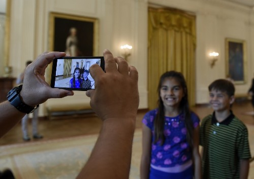 Welcome to the White House, Snap Away: Photos