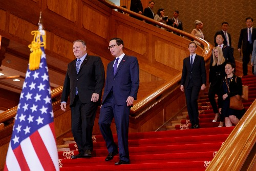 U.S.'s Pompeo, Mnuchin, Bolton to brief media on Tuesday: White House