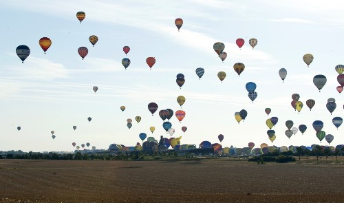 Hot-Air Ballooning in France