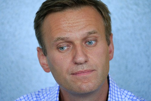 Kremlin critic Navalny says he was detained by police near Moscow home