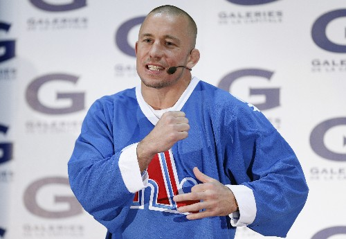 St-Pierre retires 'at the top' of his game
