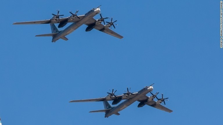 Russia increases military flights in Pacific, U.S. general says