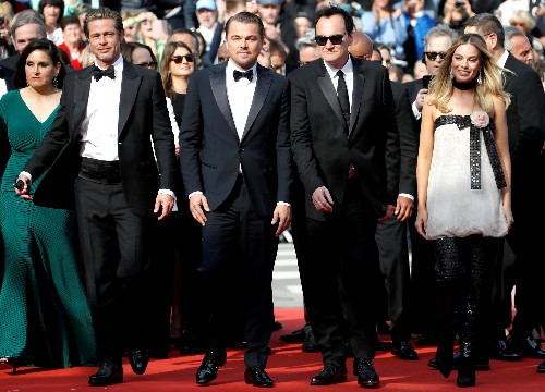 Once upon a time in Cannes: DiCaprio, Pitt attend new Tarantino film