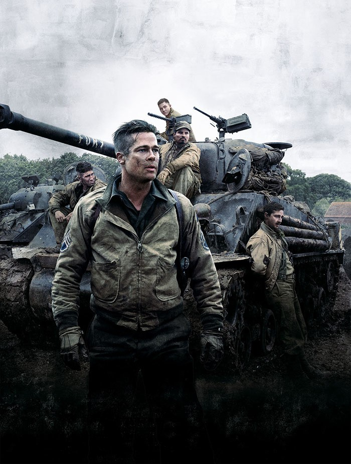 FURY MOVIE - Cover