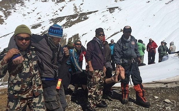 Nepal trekkers 'kicked out of lodge during snow storm' blame local greed for eight deaths