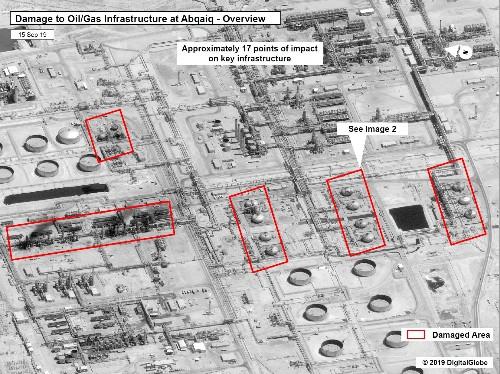 Les attaques contre Aramco venaient d'Iran, selon des responsables US