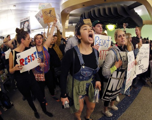 Protests Over Trump's Immigration Order: Pictures