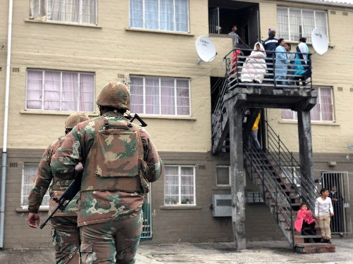 South African army to stay longer in gang hotspots - Ramaphosa