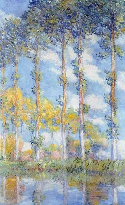 viola 💠 Claude Monet