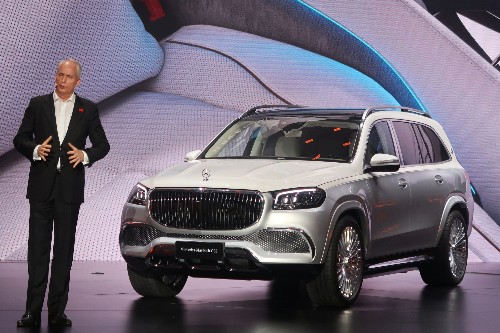 Daimler brings SUV to luxury Maybach brand's portfolio
